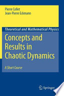 Concepts and Results in Chaotic Dynamics: A Short Course