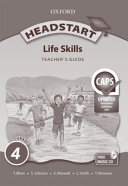 Books - Headstart Life Skills Grade 4 Teachers Guide | ISBN 9780199044818