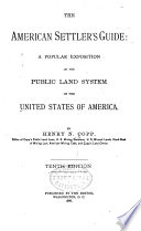 The American Settler's Guide