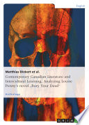 Contemporary Canadian Literature and Intercultural Learning  Analyzing Louise Penny s novel  Bury Your Dead