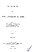 Lectures on the Gospel according to Luke Book