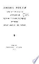 Anima Poetæ from the Unpublished Note-books of Samuel Taylor Coleridge