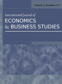 International Journal of Economics and Business Studies