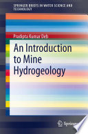 An Introduction to Mine Hydrogeology