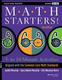Pdf Math Starters Telecharger