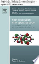 High Resolution NMR Spectroscopy Book