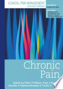 Clinical Pain Management Second Edition  Chronic Pain Book