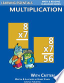 Multiplication Flashcards  Multiplication Facts with Critters
