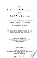The rain cloud and The snow storm Book