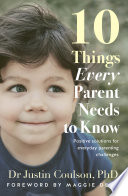 10 Things Every Parent Needs To Know Book