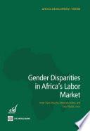 Gender Disparities in Africa s Labor Market