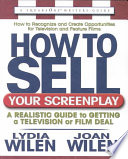 How to Sell Your Screenplay Book