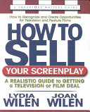 How to Sell Your Screenplay