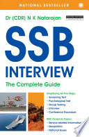 """""""SSB Interview: The Complete Guide"""" by Dr. N. K. Natarajan"""