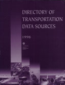 Directory of Transportation Data Sources  1996