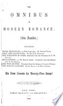 The Omnibus of Modern Romance