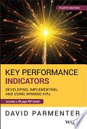 Key Performance Indicators  KPI  Fourth Edition