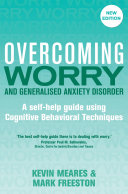 Pdf Overcoming Worry and Generalised Anxiety Disorder, 2nd Edition Telecharger