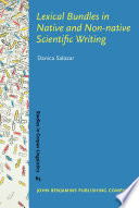 Lexical Bundles in Native and Non-native Scientific Writing