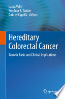 Hereditary Colorectal Cancer Book