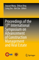 Pdf Proceedings of the 17th International Symposium on Advancement of Construction Management and Real Estate Telecharger