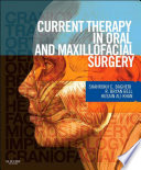 Current Therapy In Oral and Maxillofacial Surgery