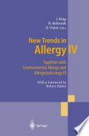 New Trends in Allergy IV