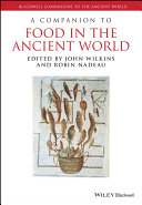 Pdf A Companion to Food in the Ancient World Telecharger