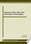 Quantum Nano Micro And Information Technologies Book PDF