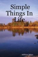 Pdf Simple Things in Life