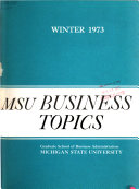 MSU Business Topics