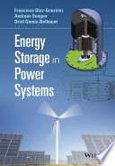 Energy Storage in Power Systems Book