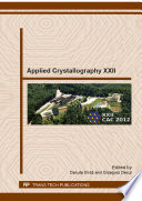 Applied Crystallography XXII Book