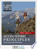 Accounting Principles 10E Chapters 1-12 for University of North Dakota