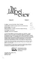 The Laurel Review
