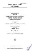 White Collar Crime  E F  Hutton Book PDF