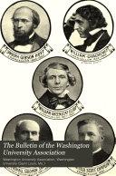 The Bulletin Of The Washington University Association