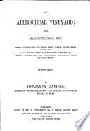 An Allegorical Vineyard  with Margin textual Key Book