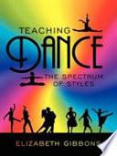 Teaching Dance Book PDF