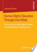 Human Rights Education Through Cin   D  bat