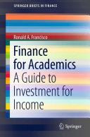 Finance for Academics