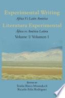 Experimental Writing  Africa vs Latin America Vol 1