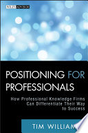 Positioning for Professionals Book