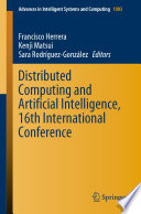 Distributed Computing and Artificial Intelligence  16th International Conference