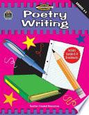 Poetry Writing Grades 3 5 Meeting Writing Standards Series
