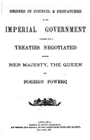 Acts of the Parliament of the Dominion of Canada