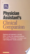 Physician Assistant S Clinical Companion Book PDF
