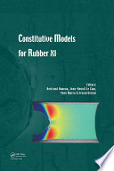 Constitutive Models for Rubber XI