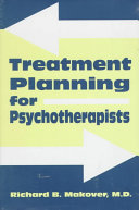 Treatment Planning for Psychotherapists Book