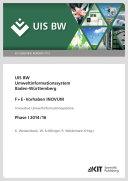 Umweltinformationssystem Baden-Wuerttemberg, F+E-Vorhaben INOVUM, Innovative Umweltinformationssysteme. Phase I 2014/16